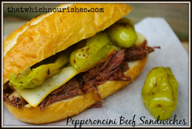 Pepperoncini Beef Text
