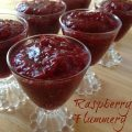 Raspberry Flummery -- a tart, berry pudding that is so delicious you will do like we did and find the need to make it every time you can get a few cups of fresh raspberries. | thatwhichnourishes.com