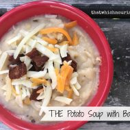 THE Potato Soup with Bacon