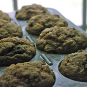 Banana Chocolate Chip (or not) Muffins