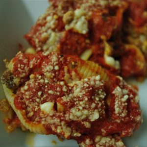 Stuffed Pasta Shells (and how to make homemade bread crumbs)
