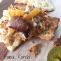 Bacon Ranch Jalapeno Popper Dip -- All the flavors you love in jalapeño poppers deliciously combined into a warm, crunchy, spicy, creamy dip   thatwhichnourishes.com