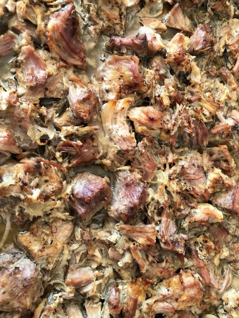 Pork Carnitas -- Packed with flavor, this is the way you make perfect pork for pork tacos. Try it once. You might forget about beef.  thatwhichnourishes.com