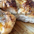 Chicken Breasts Done Right -- This is the method to flavor-packed moist and juicy chicken breasts. | thatwhichnourishes.com