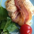 Bacon Wrapped Stuffed Chicken Breasts -- tender chicken stuffed with herbed cream cheese and wrapped in bacon. Easily our family's favorite meal. | thatwhichnourishes.com