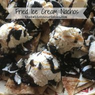 Fried Ice Cream Nachos