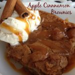 Apple Cinnamon Brownies