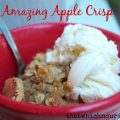 Amazing Apple Crisp -- classic apple crisp, but better because of extra cinnamon and a perfect crispy oatmeal topping   thatwhichnourishes.com