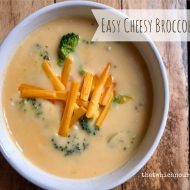 Easy Cheesy Broccoli Soup