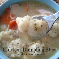 Chicken Dumpling Stew