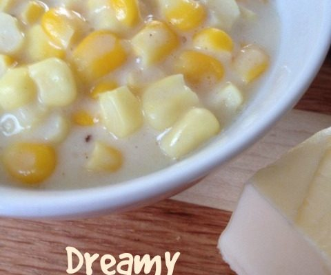 Dreamy Creamed Corn -- Just like the title says, this is my version of that bbq place side that we all love! | thatwhichnourishes.com