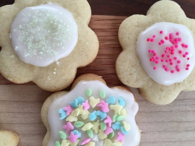 Frosted Easter Cookies -- Buttery, sugary, perfect frosted Easter cookies.  These little beauties are an easy way to dress up your Easter table and make yourself a little famous! | thatwhichnourishes.com