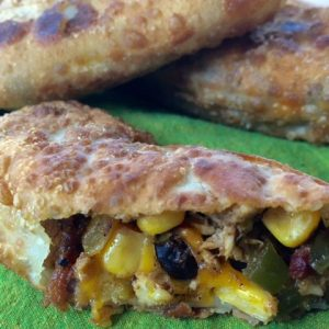 Southwestern Egg Rolls with Bacon -- these flavor-packed homemade egg rolls are an easy, versatile way to stretch a dollar and make everyone's taste buds happy. Bacon, beans, spices, a bit of chicken and cheese make a delicious lunch or appetizer | thatwhichnourishes.com