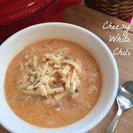 Cheesy White Chili
