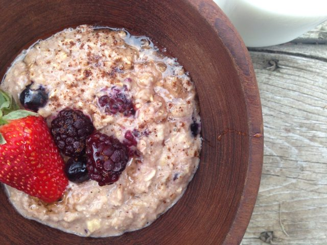 Oatmeal Custard -- This new, easy method of preparing oats transforms them into a rich, custardy, totally customizable and nutritious meal that will change the way you do breakfast. | thatwhichnourishes.com