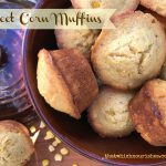 Sweet Corn Muffins -- Moist, melt-in-your-mouth corn muffins sweetened just a bit with honey. These are the ideal accompaniment to a bowl of chili or any Mexican meal. |thatwhichnourishes.com