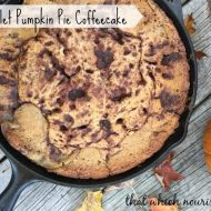 Skillet Pumpkin Pie Coffeecake