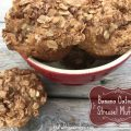 Banana Oatmeal Streusel Muffins -- soft and flavorful banana muffins packed with oatmeal and spice and blanketed by a sweet, crumbly streusel topping made with oats, butter, and brown sugar. | thatwhichnourishes.com