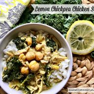Lemon Chicken Chickpea Soup