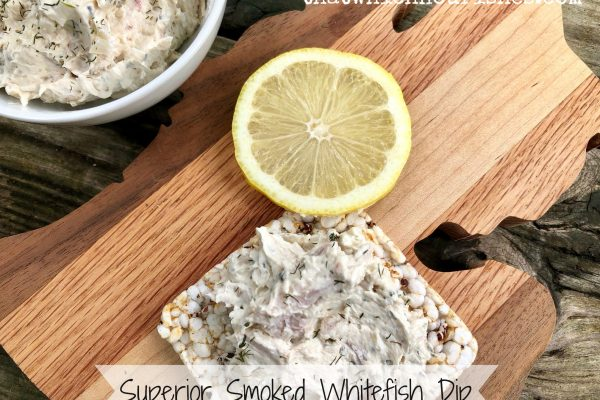 Superior Smoked Whitefish Dip -- A crowd-pleasing dip packed with lemon, dill, garlic, and the star of the show, flaky smoked whitefish. | thatwhichnourishes.com