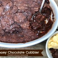 Gooey Chocolate Cobbler