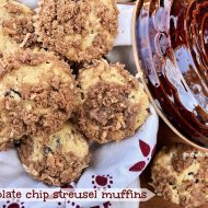 Chocolate Chip Streusel Muffins