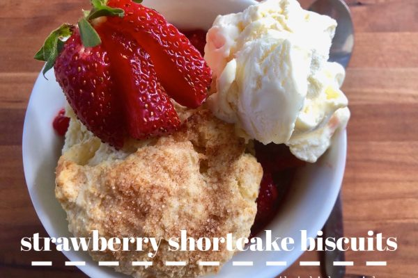 Strawberry Shortcake Biscuits -- The perfect buttery and soft accompaniment to your strawberries. | thatwhichnourishes.com