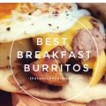 Best Breakfast Burritos -- Savory sausage, crispy potatoes, melty cheese, and a fried egg on top -- these Best Breakfast Burritos have all the elements you crave in one delightful package. | thatwhichnourishes.com