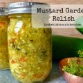 Mustard Garden Relish -- Cucumbers, zucchini, onion and pepper come together in a mild relish that has a mild mustard flavor and makes the BEST addition to your BBQ sandwiches, hot dogs, sandwiches, and even tuna salad! | thatwhichnourishes.com