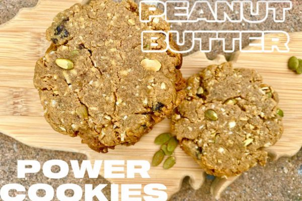 Peanut Butter Power Cookies -- These power-packed snacks are a simple way to nourish while providing a delicious and protein-rich snack full of natural goodness.   thatwhichnourishes.com